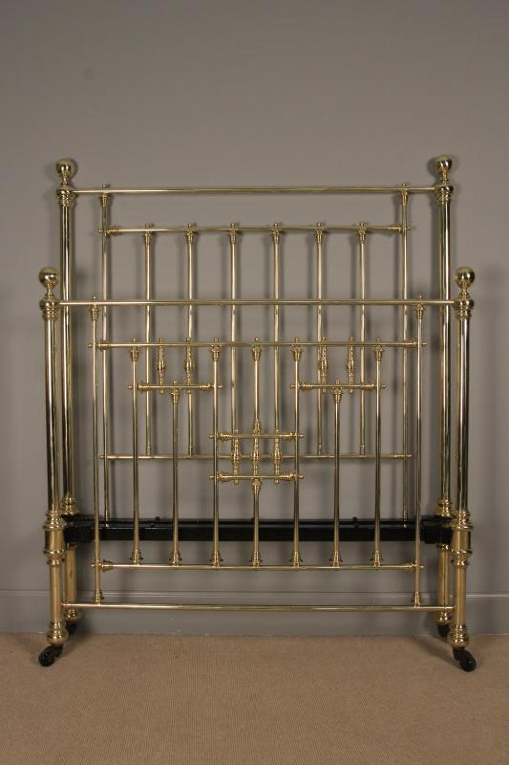 Victorian Brass 4ft. Bed - Small Double