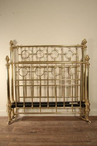 Classic Double Brass Bed 4 ft 6