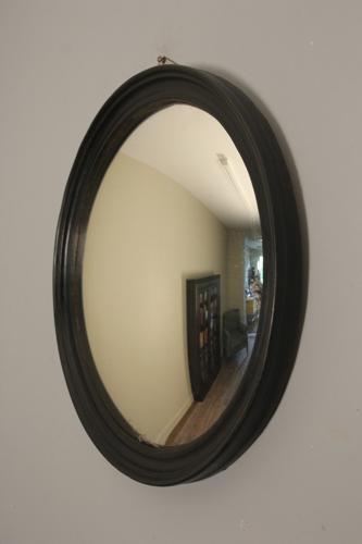 19th C. Convex Wall Mirror