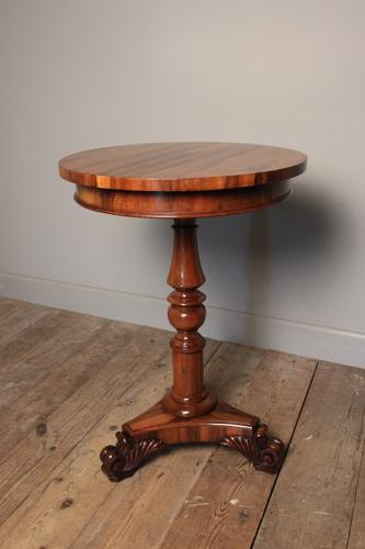Gillows Goncalo Alves Side Table