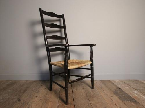 Arts & Crafts Ladderback Chair