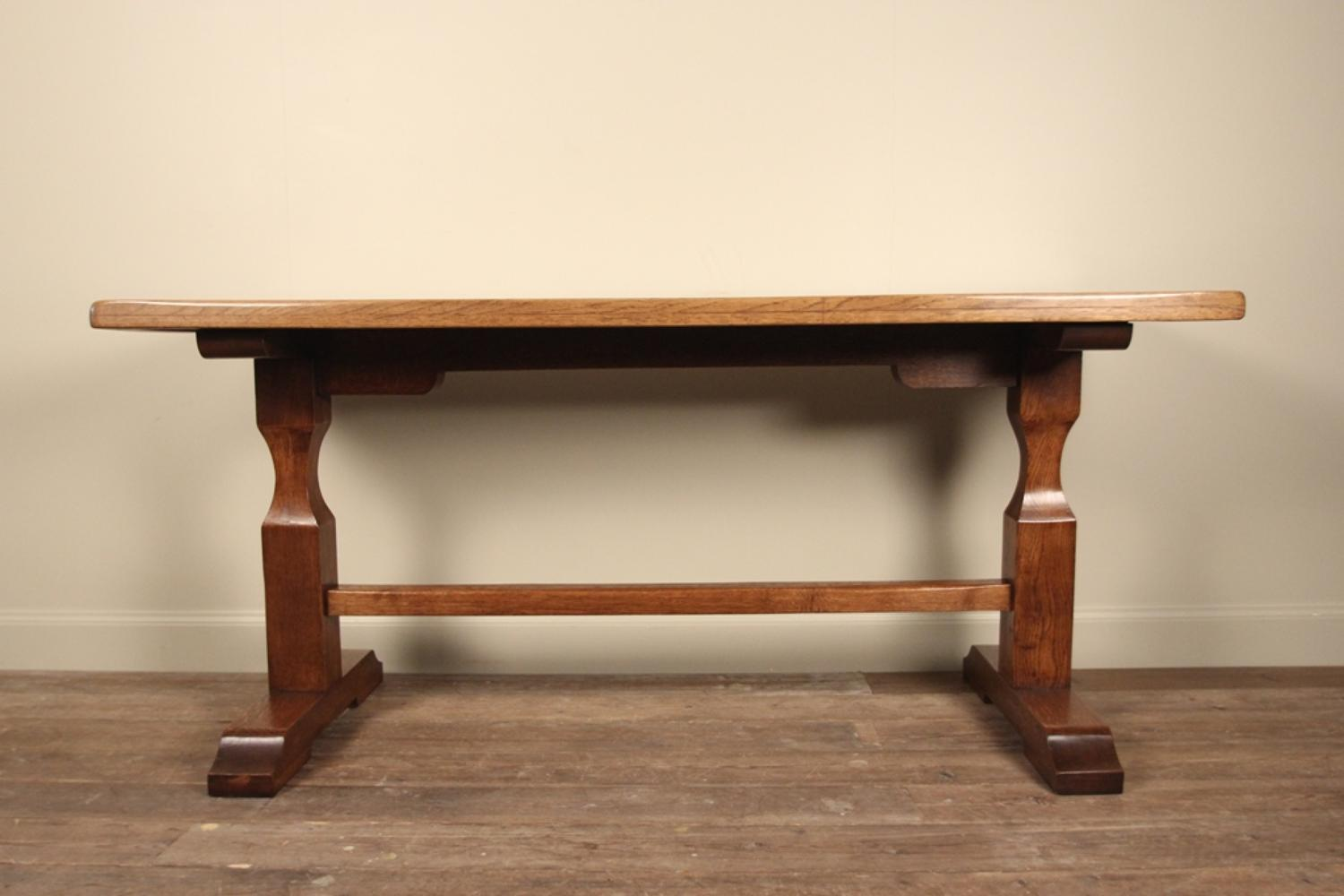 Delightful ... Stylish Small English Oak Refectory Table   Picture 4 ...