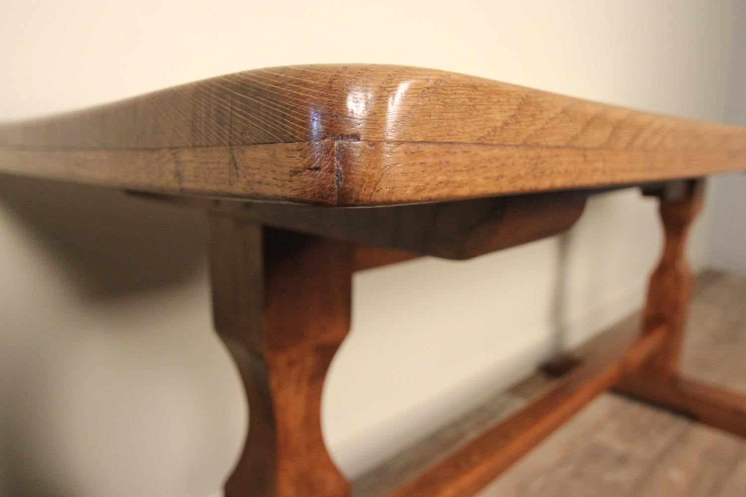 Perfect ... Stylish Small English Oak Refectory Table   Picture 6 ...