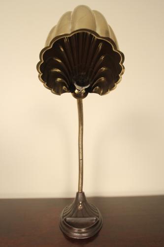Brass Shell Desk Lamp