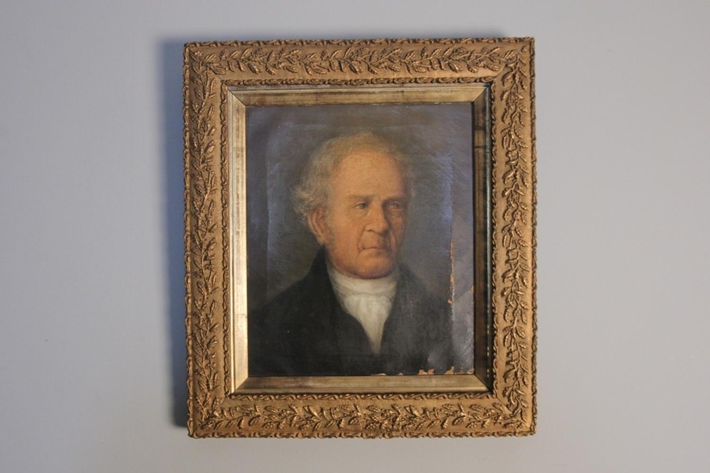 Small 19th C. Oil Portrait