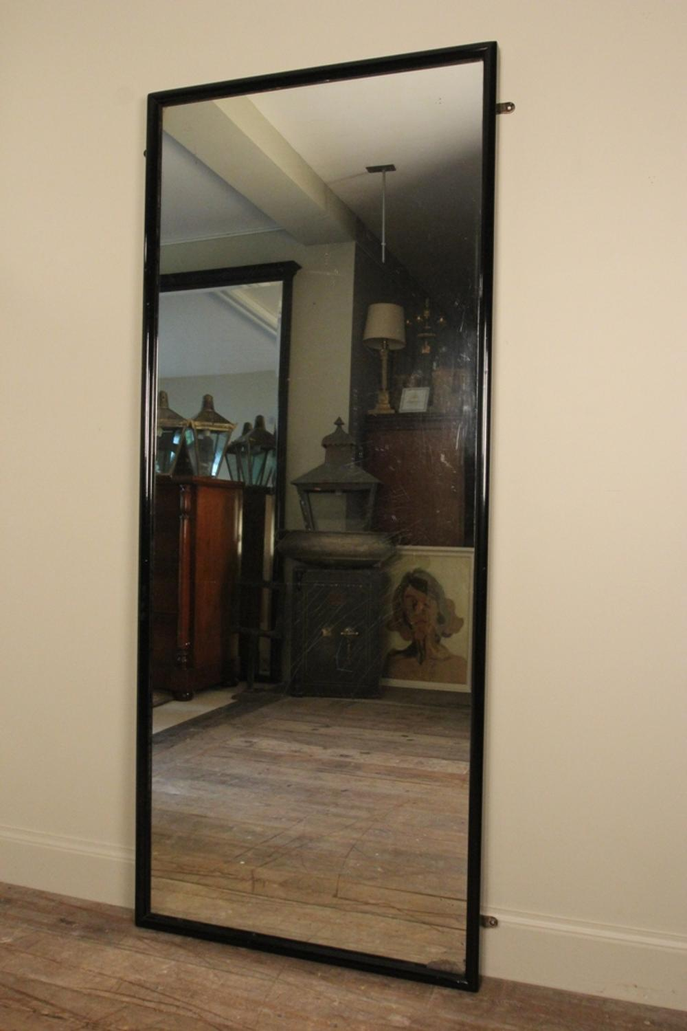Large 19th C. English Outfitters Dressing Mirror