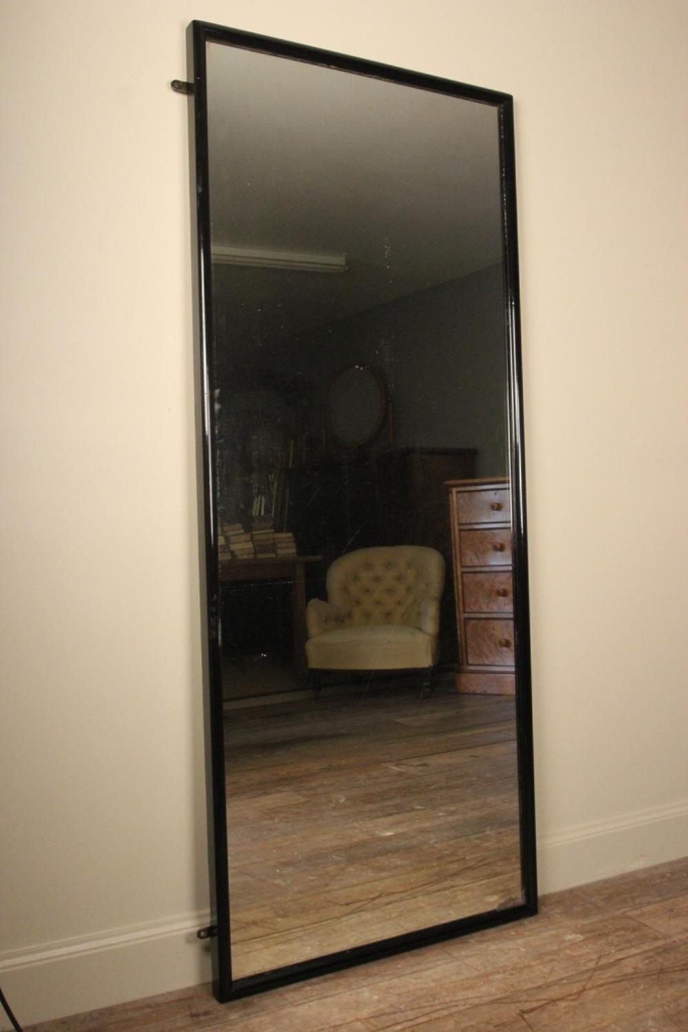 Large 19th c english outfitters dressing mirror in for Large portrait mirror