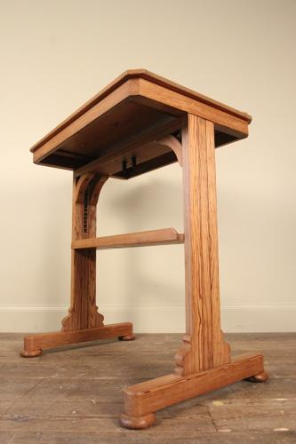 19th C. Small Rise & Fall Architects Table