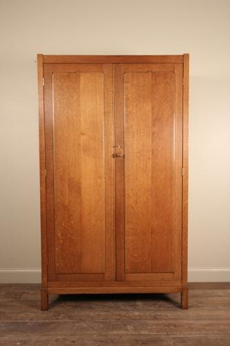 Heals Letchworth Oak Wardrobe