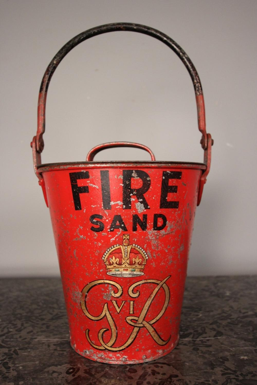 George VI Fire Bucket