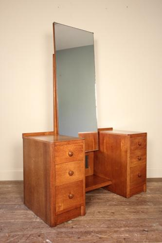 Heals Oak Dressing Table