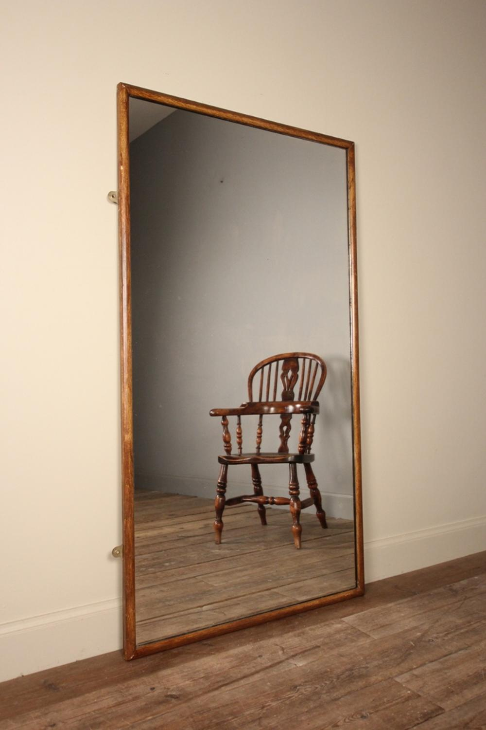 Stylish Outfitters Mirror with Original Paint