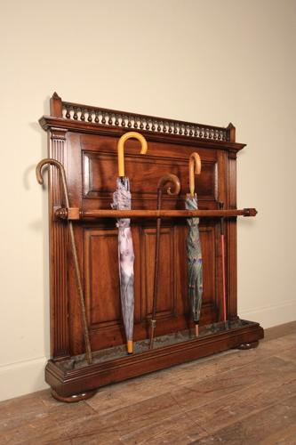 Country House Walnut Umbrella & Stick Stand
