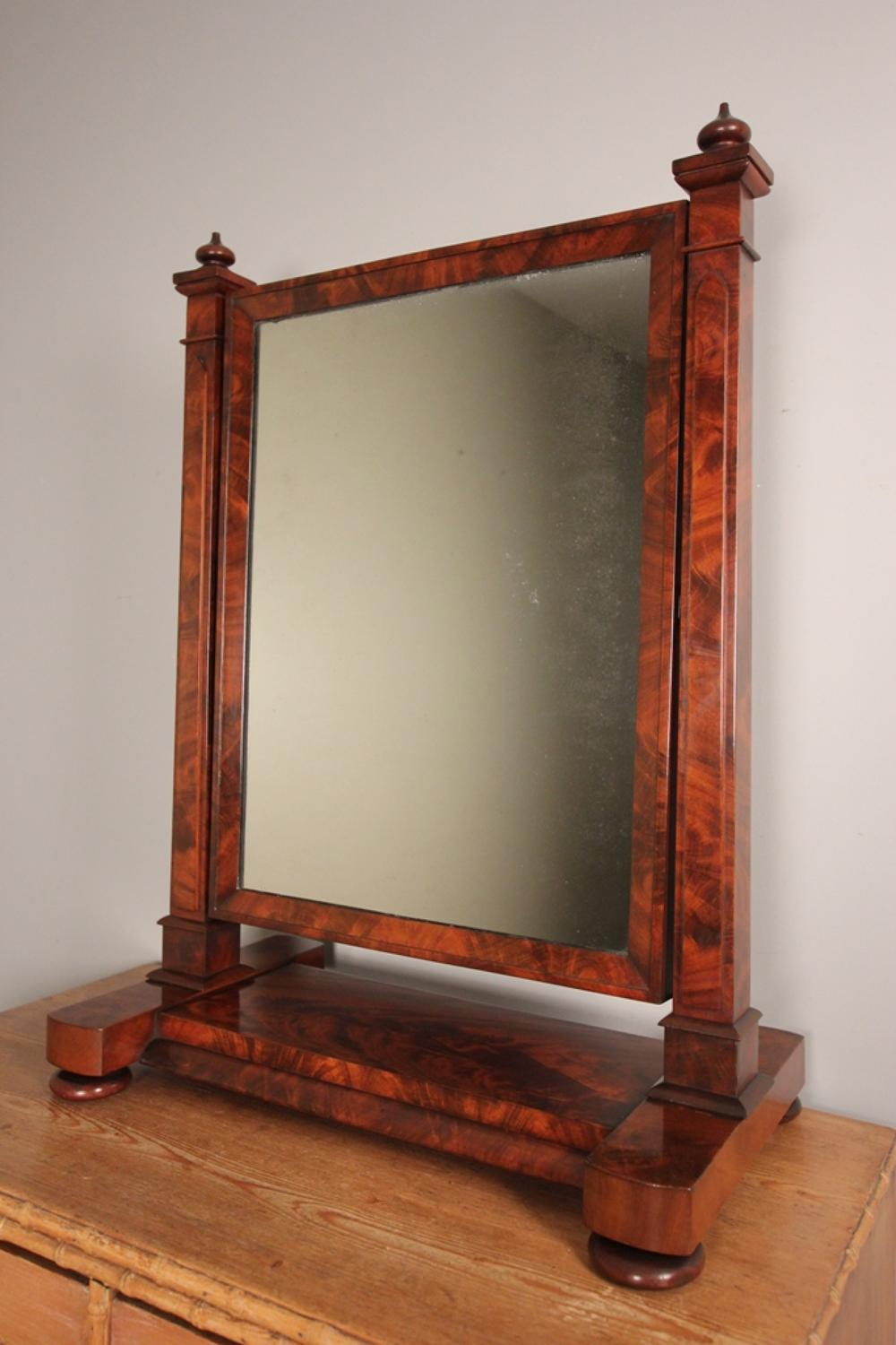 Striking William IV Dressing Table Mirror