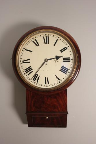 Large 16 Inch Drop Dial Clock