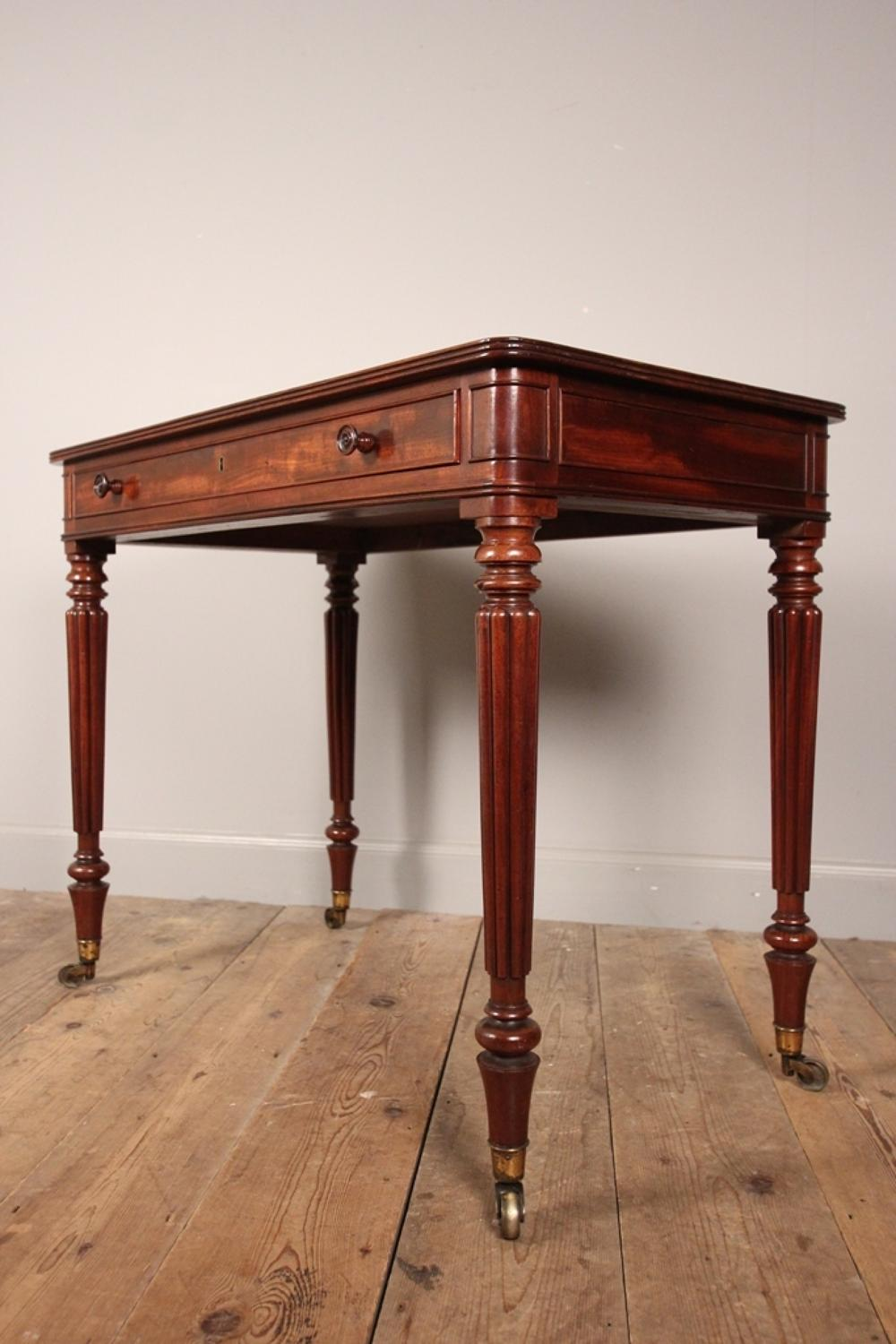 Fine Regency Gillows Mahogany Side Table