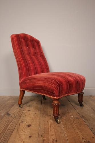 Gillows Mahogany Bedroom Chair