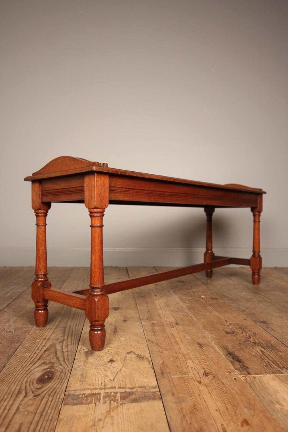 19th Century Walnut Window Seat