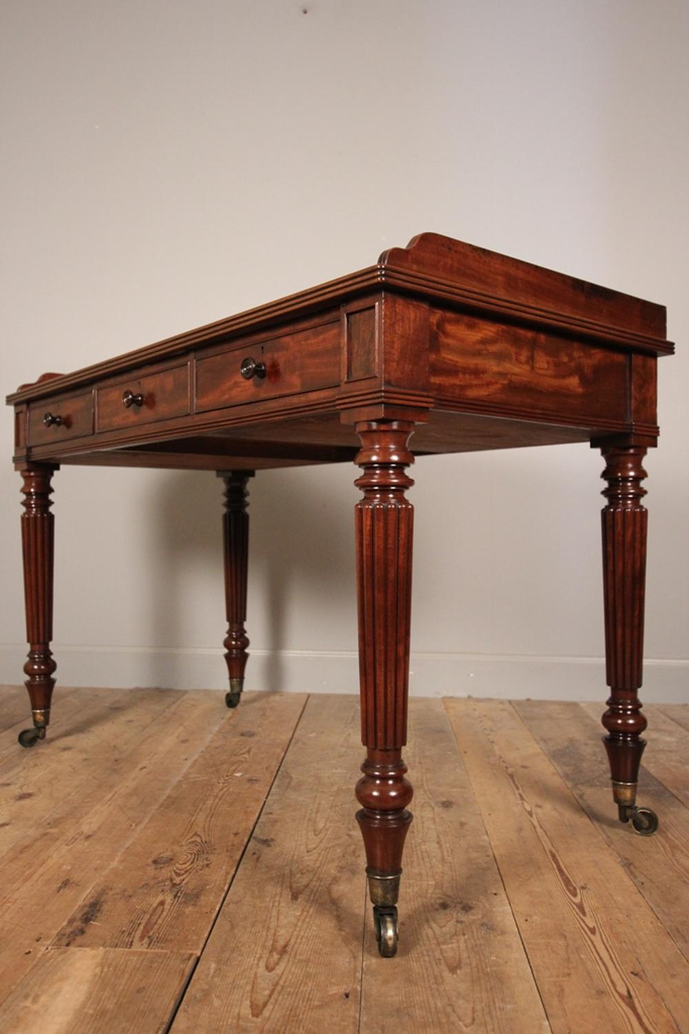 Regency Gillows Mahogany Side Table