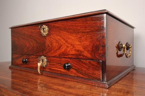 Regency Padouk Deed Box