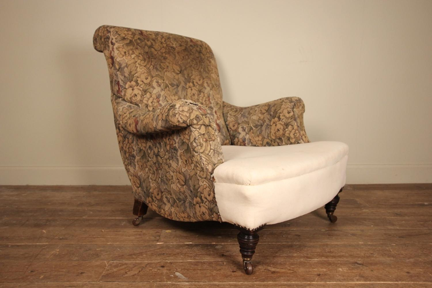 19th C Large Country House Chair
