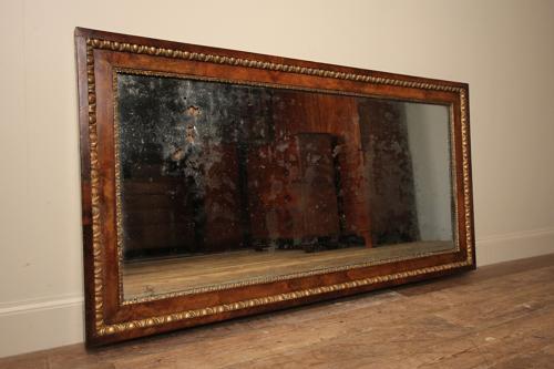 Magical 19th Century Walnut Mirror