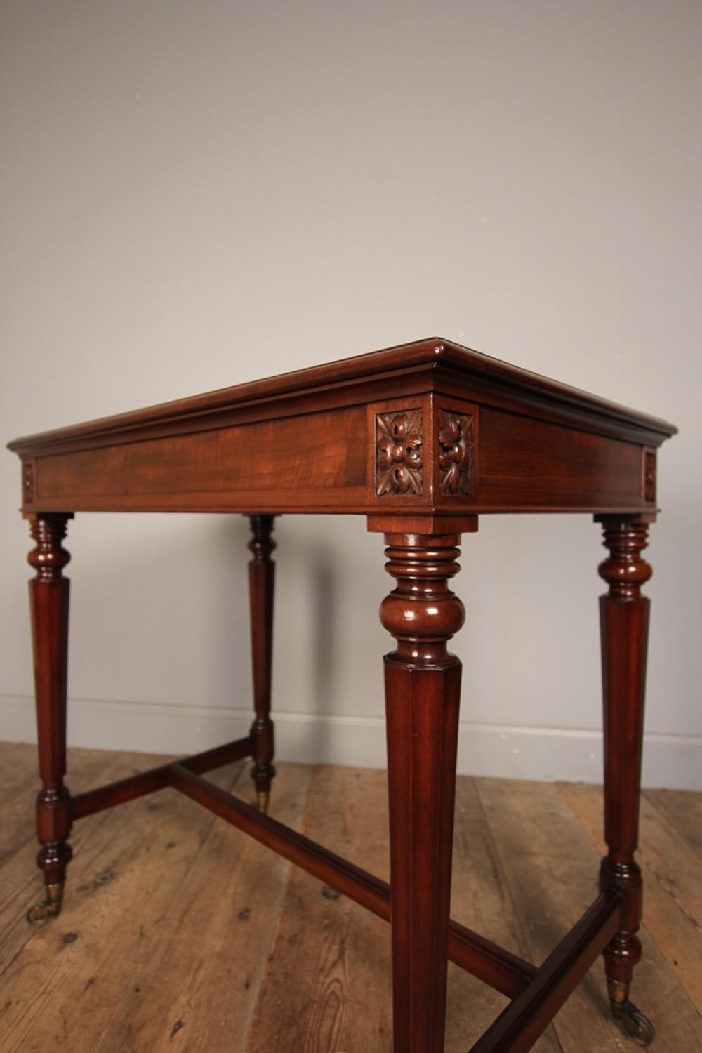 William IV Gillows Mahogany Side Table