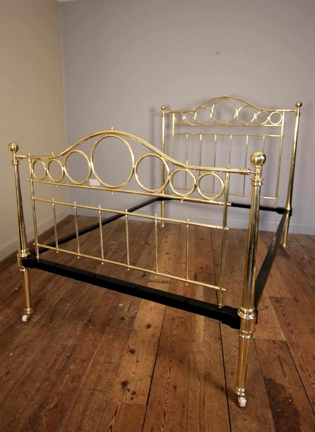 Super quality Brass Double Bed (4ft 6