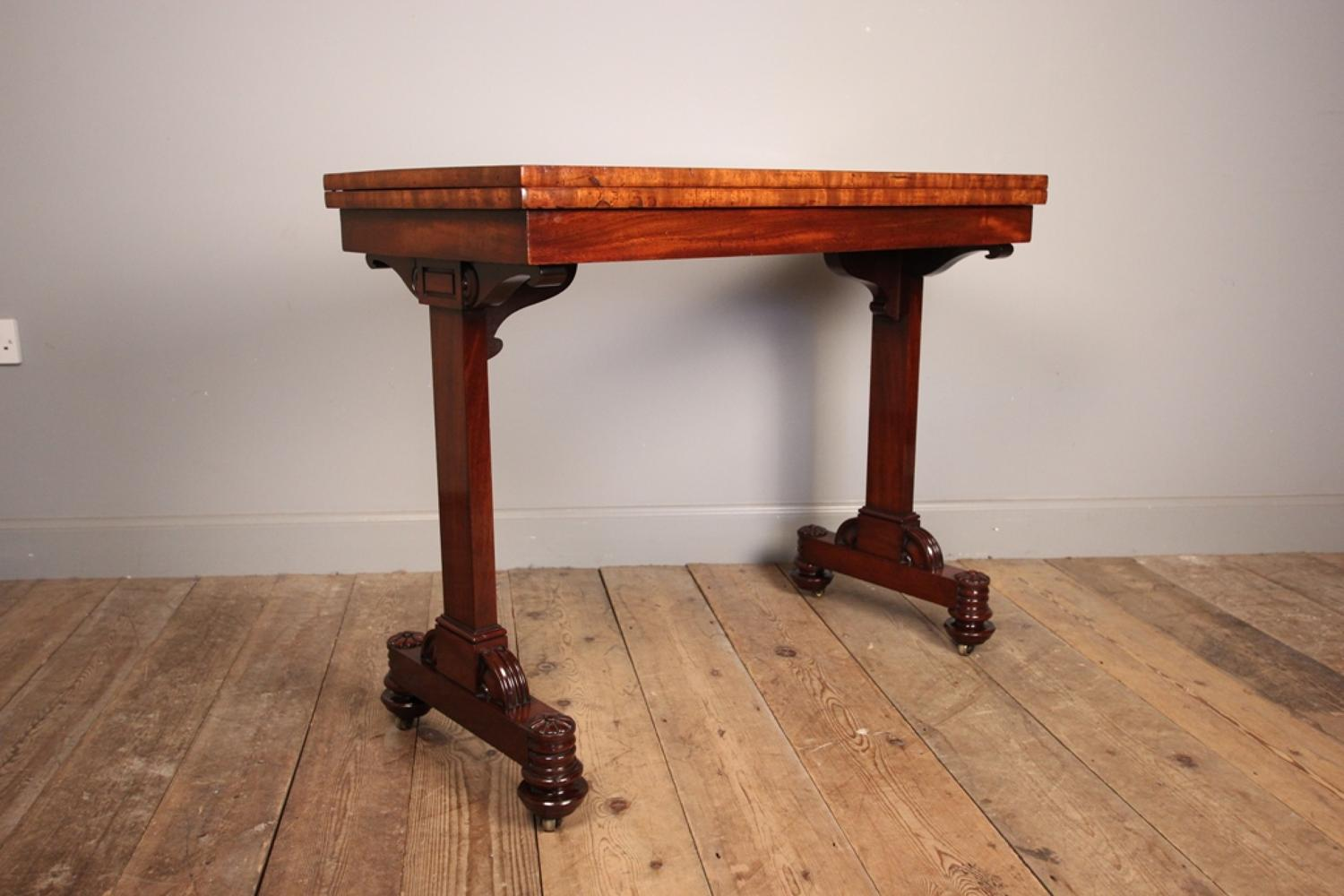 T&G Seddon Mahogany Metamorphic Games/Side Table