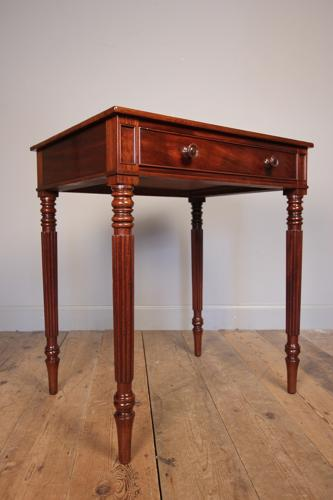 George IV Mahogany Side Table in the manner of Gillows