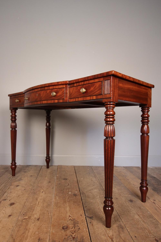 George IV Mahogany Writing / Side Table
