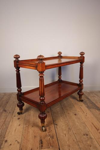 George IV Mahogany 2 Tier Buffet
