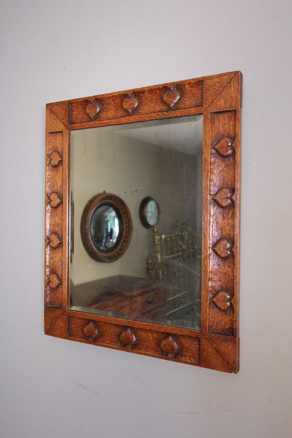Charming Arts & Crafts Wall Mirror