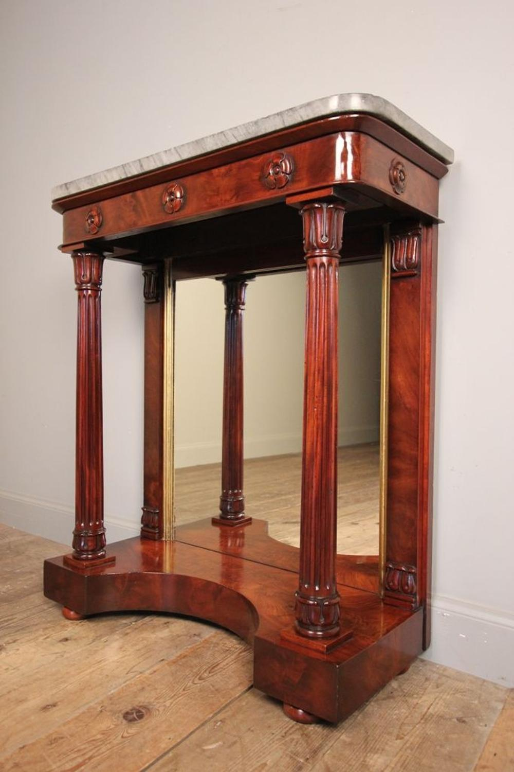 Stunning William IV Small Console Table
