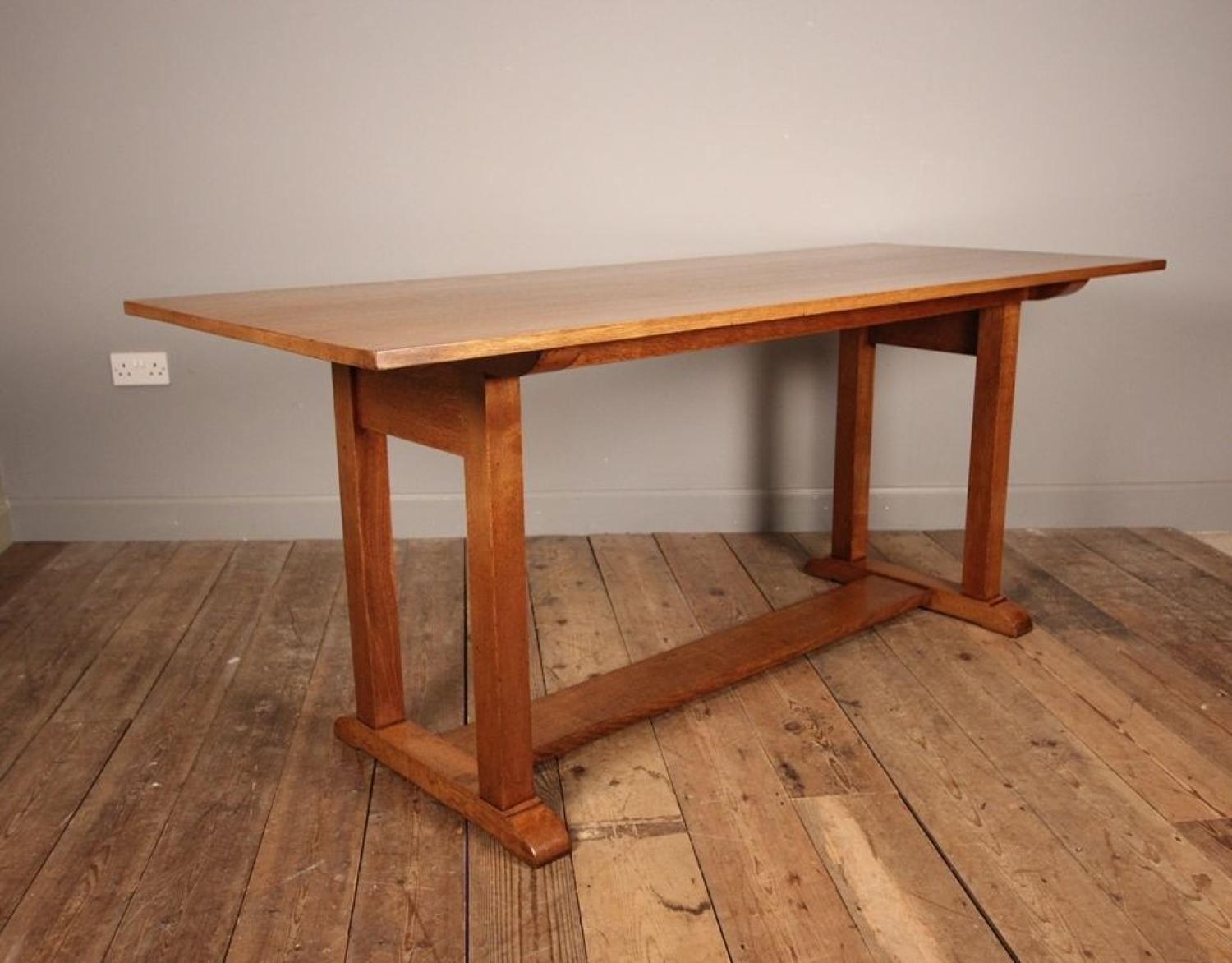 Heals Oak Refectory Dining Table