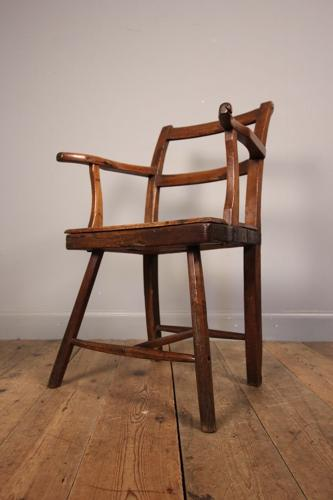 18th Century Primitive Country Chair
