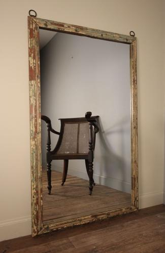 Distressed late 19th C. Mirror