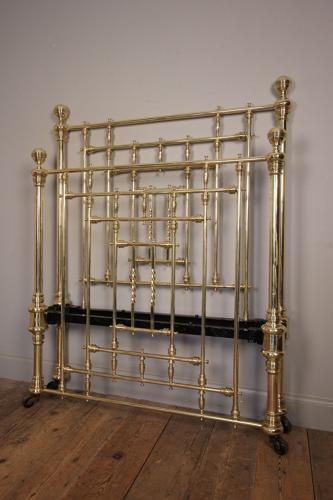 Victorian Brass Single Bed (3 ft 6