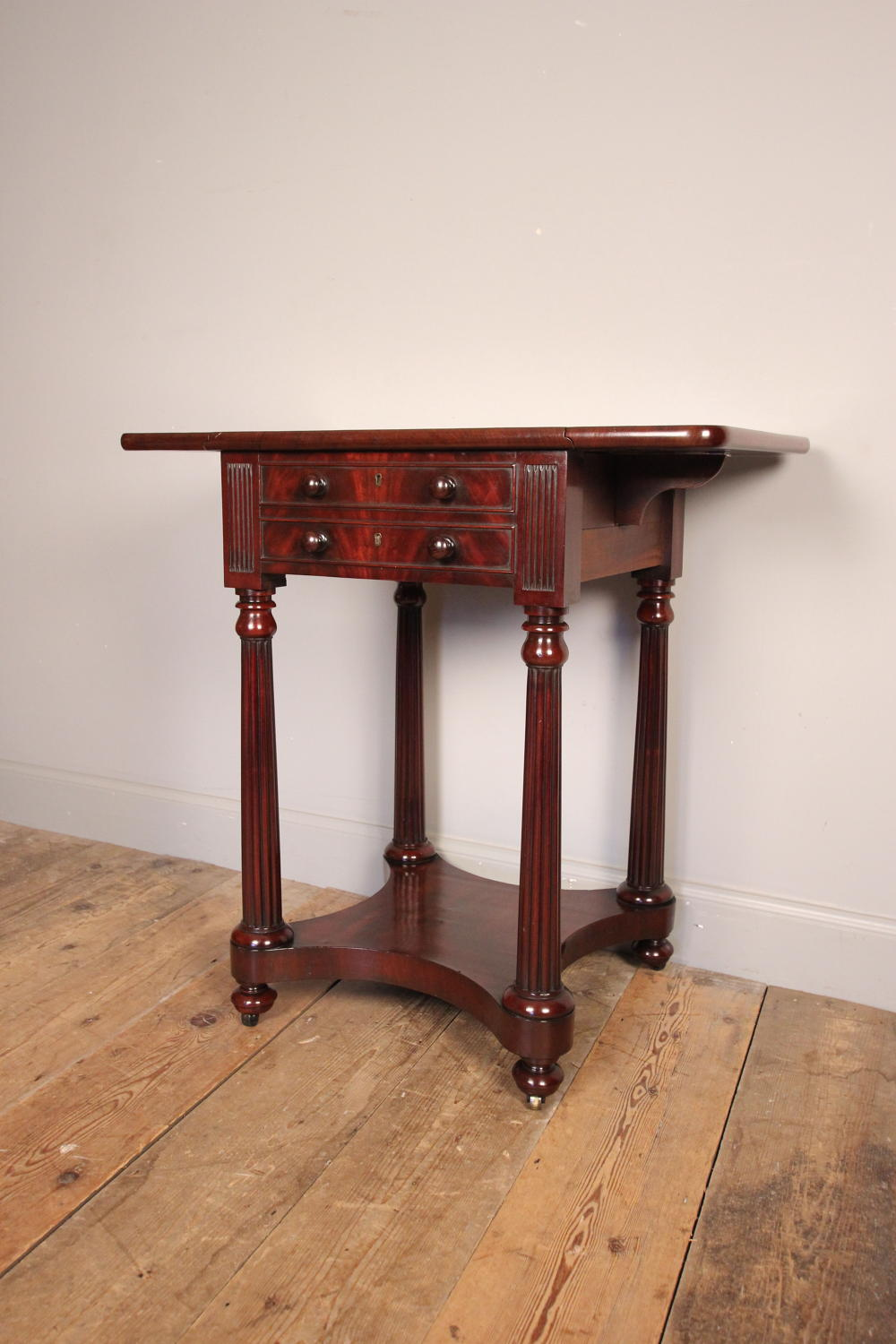 Small Regency Mahogany Side/Sofa Table