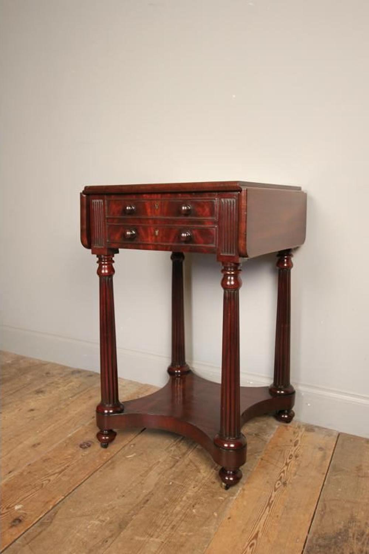Superb Small Regency Side / Sofa Table