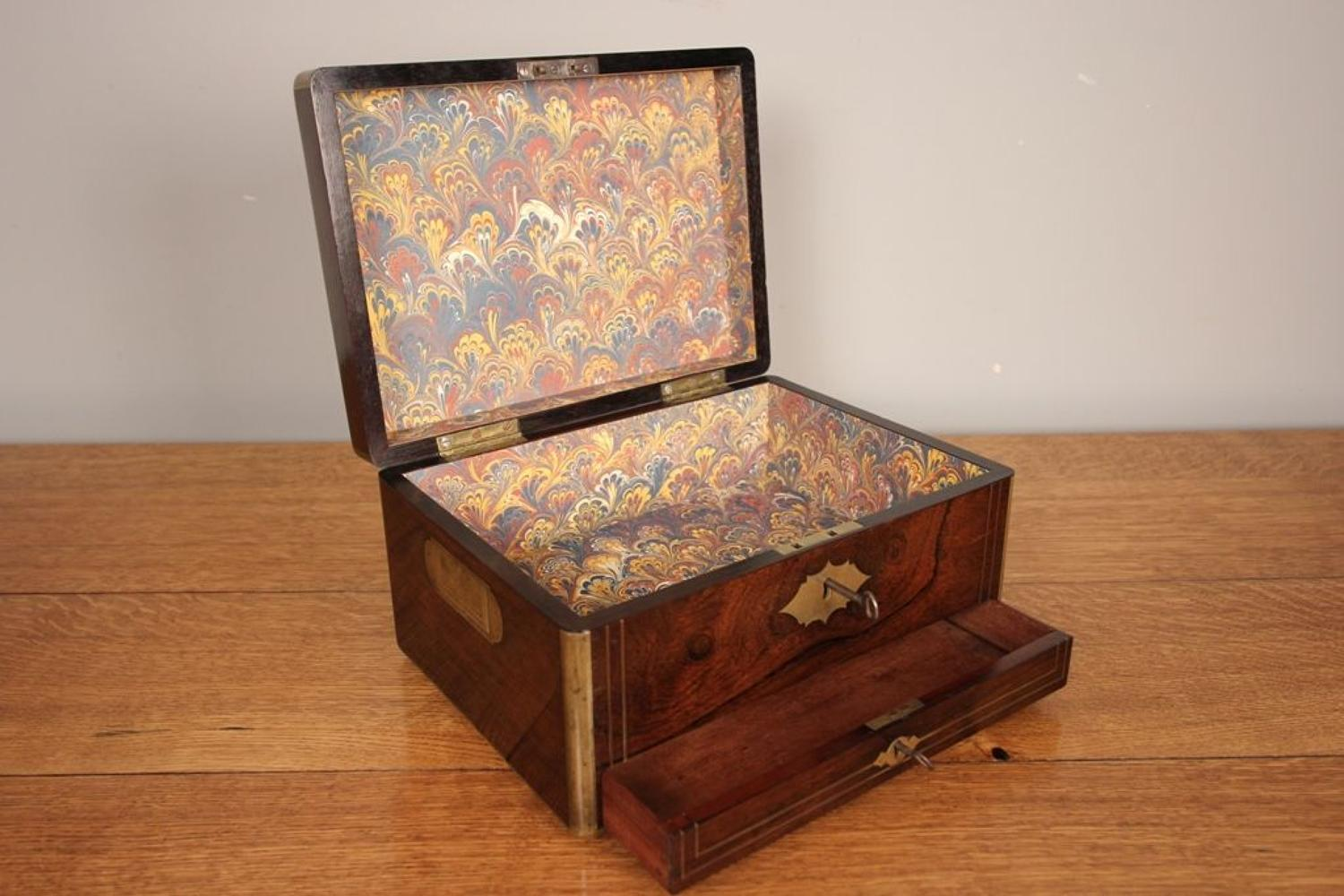 Rosewood Georgian Campaign Box