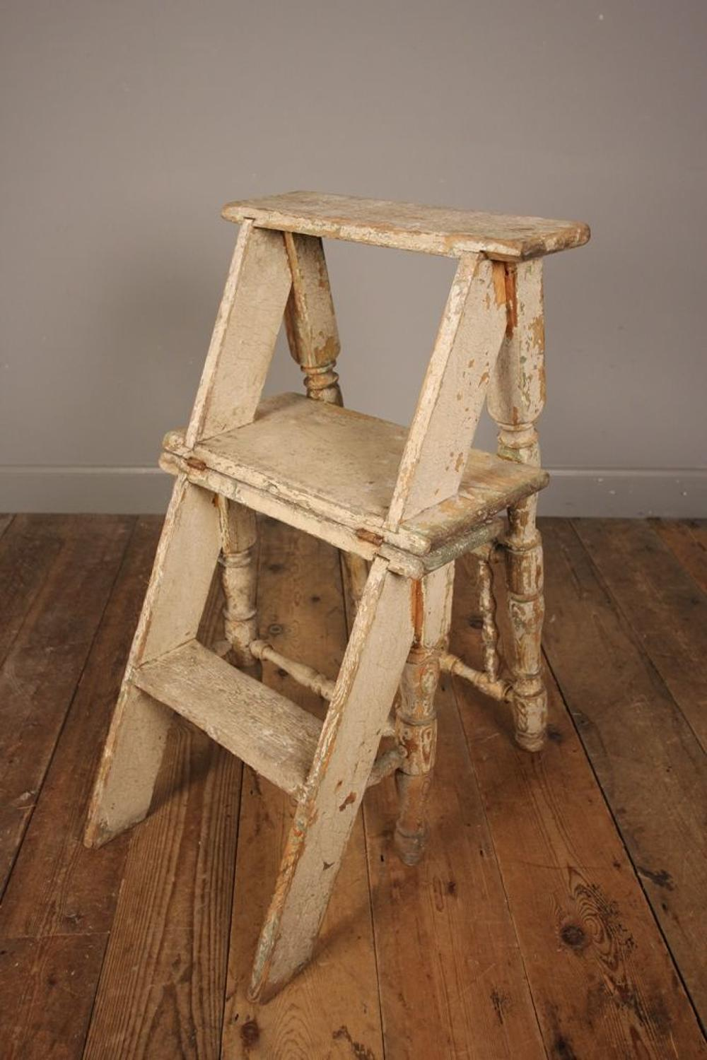 19th Century Metamorphic Chair in wonderful original paint