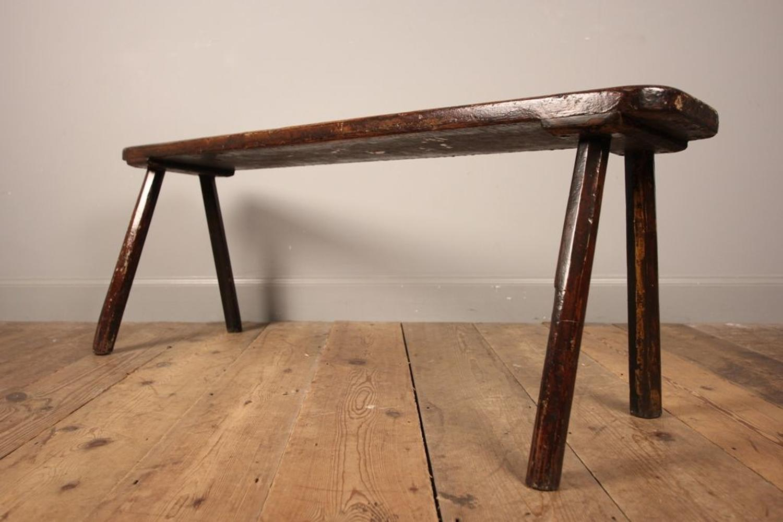 Primitive Bench in Original Paint