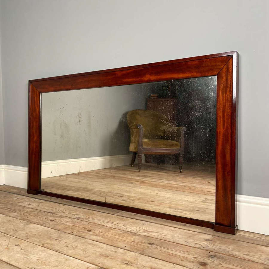 William IV Mahogany Wall Mirror