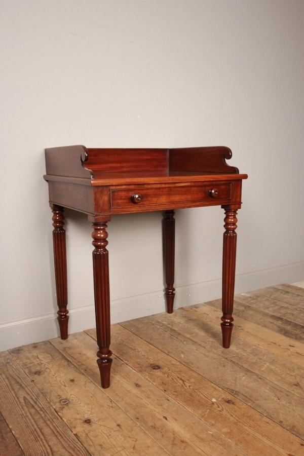 William IV Mahogany Side Table