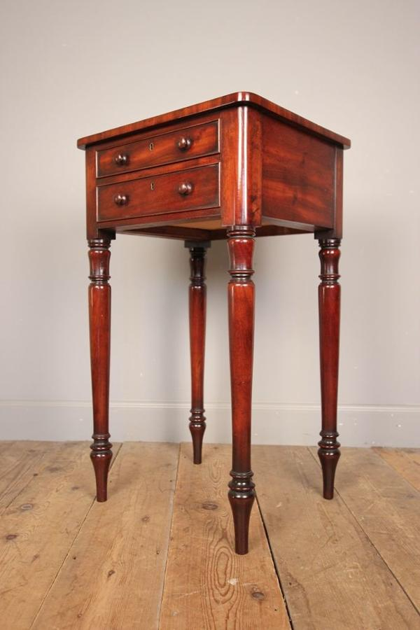 A Small Versatile 19th C. Mahogany Table