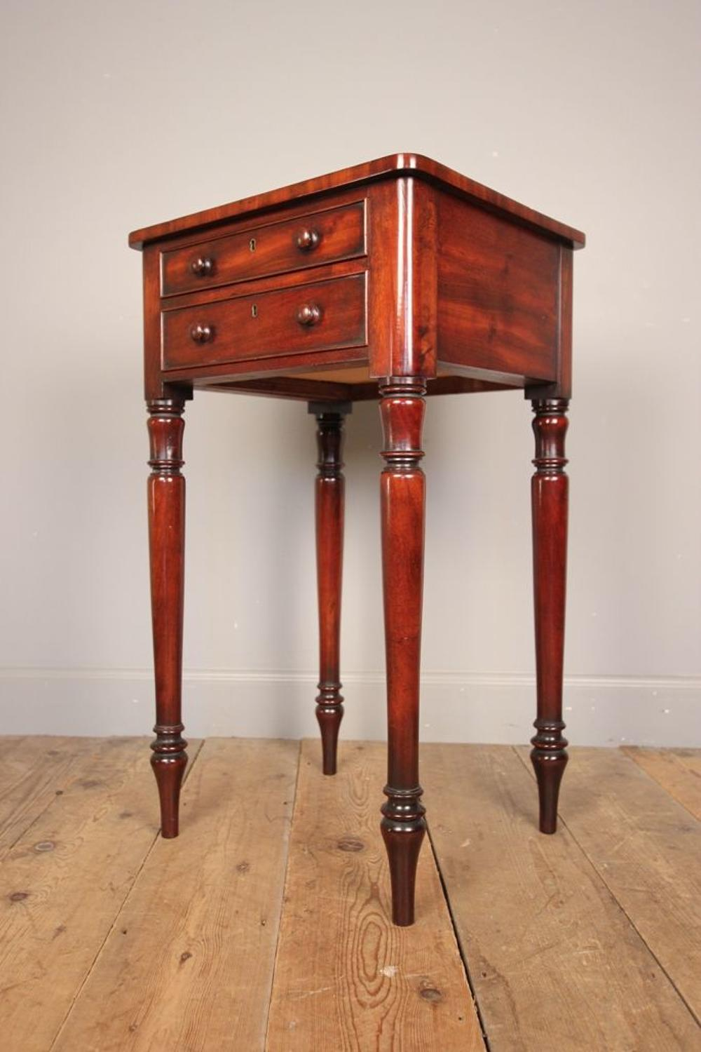 A Small Versatile 19th C. Mahogany Table
