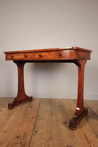 Gillows Design William IV Mahogany Side Table