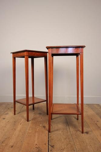 Small Pair of Edwardian Occasional Tables