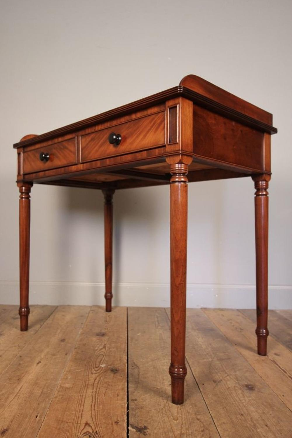 Classic Georgian Mahogany Side Table